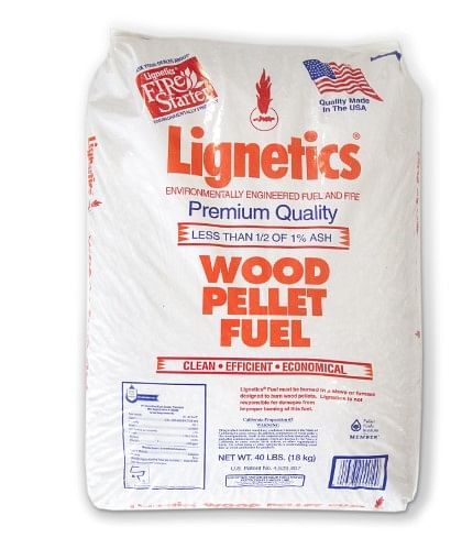 Lignetics Wood Pellet Fuel